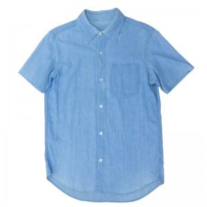 長袖シャツを半袖シャツにリメイク(アフター)