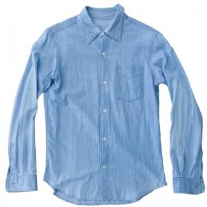 長袖シャツを半袖シャツにリメイク(ビフォー)