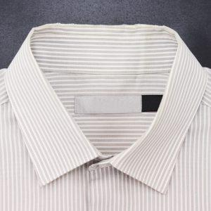 シャツの襟擦り切れ直し(ビフォー)
